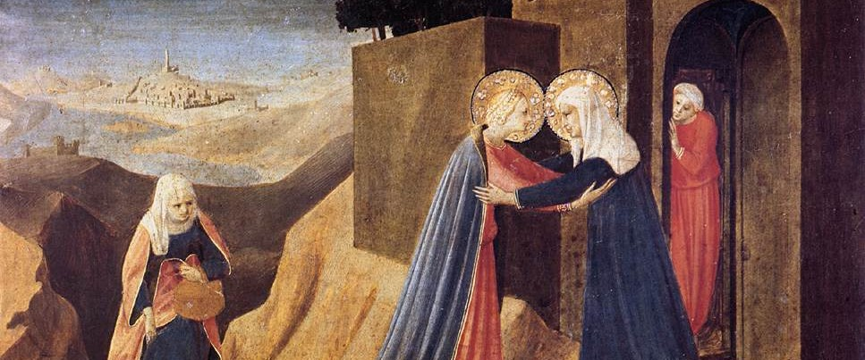 Fra Angelico - The Visitation - 1434
