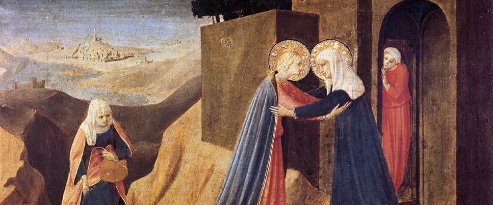 Fra Angelico - The Visitation - 1434